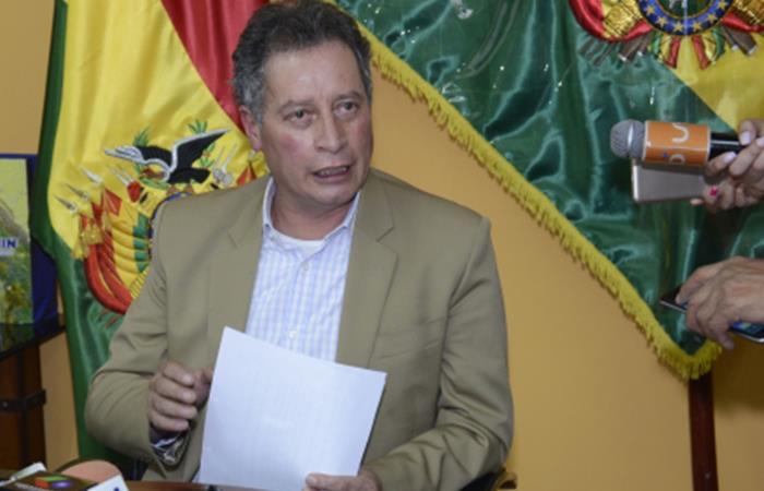Ministro de Minería de Bolivia. Foto: ABI