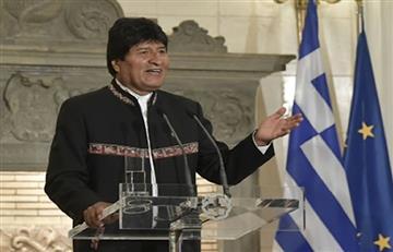 Morales se declaró admirador de Europa por ser