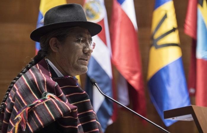 Canciller asevera que la reivindicación marítima de los bolivianos está