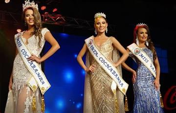 ¡Miss Cochabamba 2019 es Natalia Carolina!