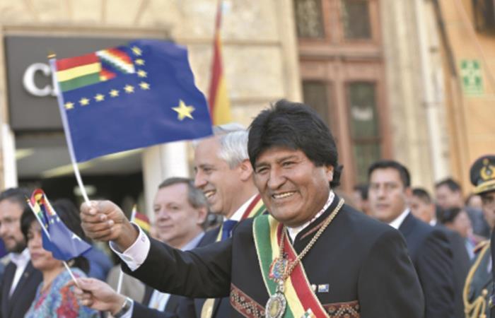 Evo Morales pide tener en cuenta hermandad con Chile. Foto: ABI