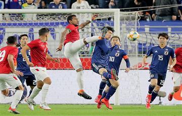 Japón venció 1-0 a Bolivia en amistoso internacional
