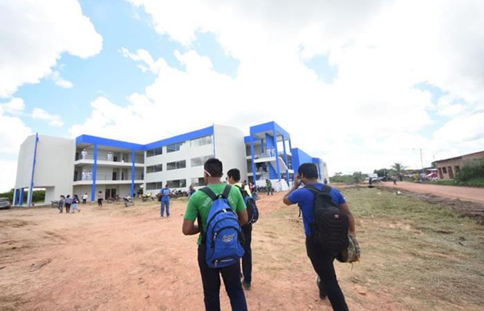 Nueva unidad educativa en Trinidad. Foto: Twitter