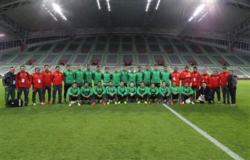 Evo confía en la preparación de la selección boliviana para enfrentar a Francia