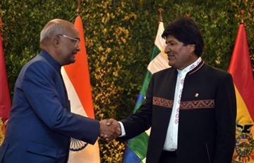 Evo Morales y Nath Kovind sellan alianza para una nueva era de cooperación y desarrollo de Bolivia y la India