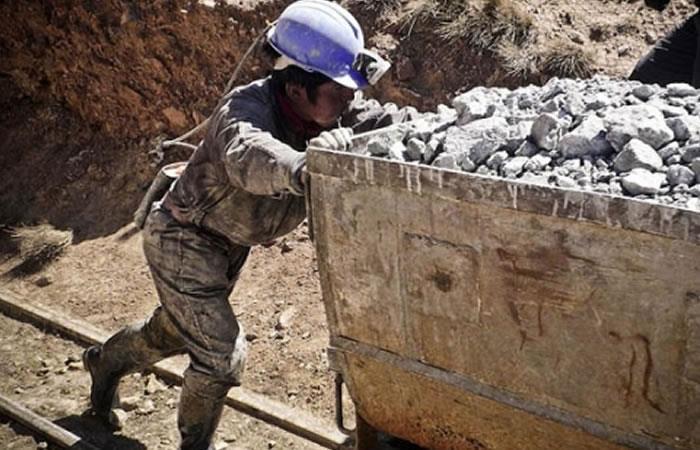 Robos en sector minero de Oruro. Foto: ABI.