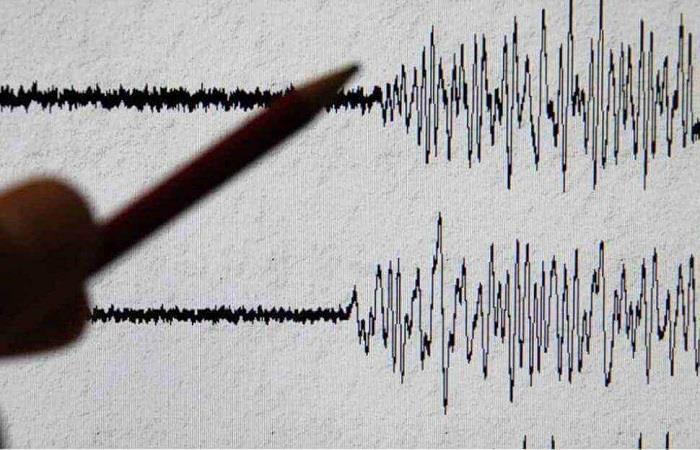 Temblor de 5.1 en la escala escala sísmica de Richter. Foto: Twitter