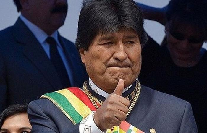 El mandatario boliviano Evo Morales. Foto: AFP