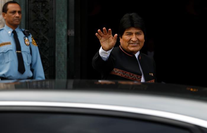 Morales es presidente de Bolivia desde el 2006. Foto: AFP