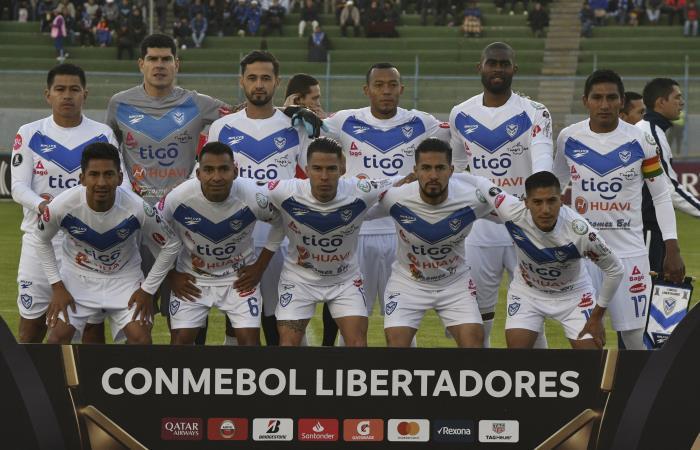 San José ocupa la última posición, en el Grupo D de la Copa Libertadores. Foto: AFP