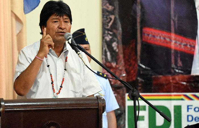 El 1 de marzo entró en rigor el SUS propuesto por Evo Morales. Foto: ABI