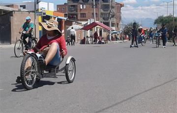 Así vivió Cochabamba el 'Día del Peatón'