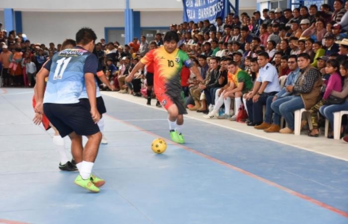 Evo Morales conmemorando el 'Día Internacional del Deporte'. Foto: ABI