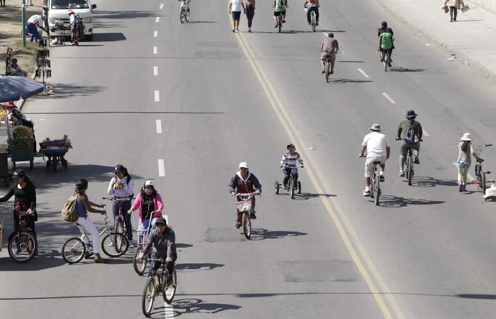 Oruro: un día sin vehículos en homenaje a los niños