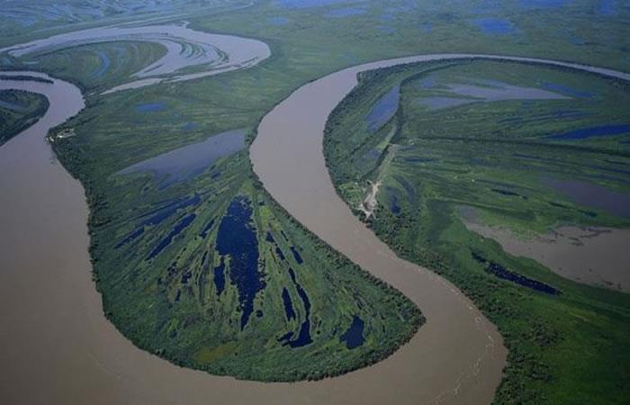 La Hidrovía Paraguay-Paraná. Foto: AFP