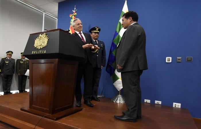 Víctor Borda asume la presidencia interina del país. Foto: Twitter