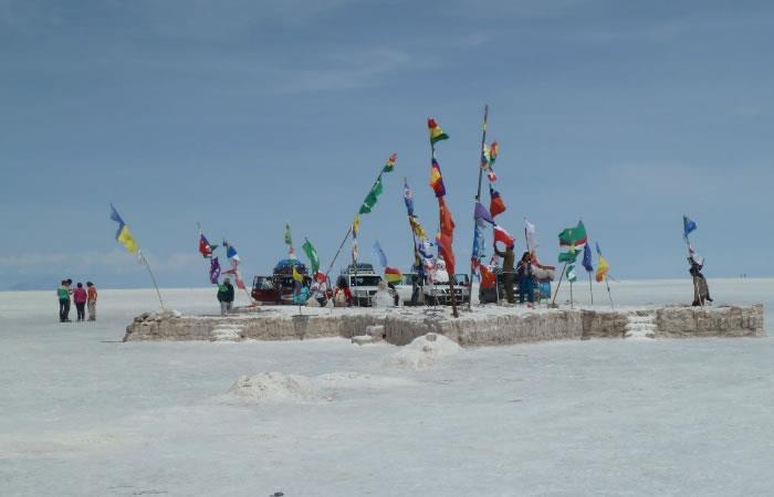 Los desiertos bolivianos son unos de los más extensos y grandes del mundo. Foto: Twitter @viajmargalliver