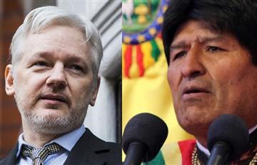 Evo Morales se solidariza con el fundador de WikiLeaks