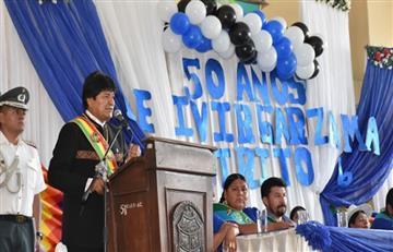 """Evo Morales: """"pedir una intervención extranjera es """"traición a la Patria"""""""""""