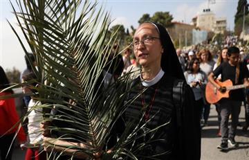 Semana Santa: Católicos conmemoran el inicio de la semana con la misa de Domingo de Ramos