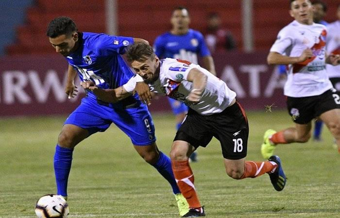 Se enfrentan Nacional de Potosí y Zulia en el partido de vuelta de la Copa Sudamericana. Foto: AFP