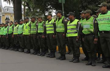 Por una Semana Santa segura, se movilizarán 10.000 policías en Bolivia