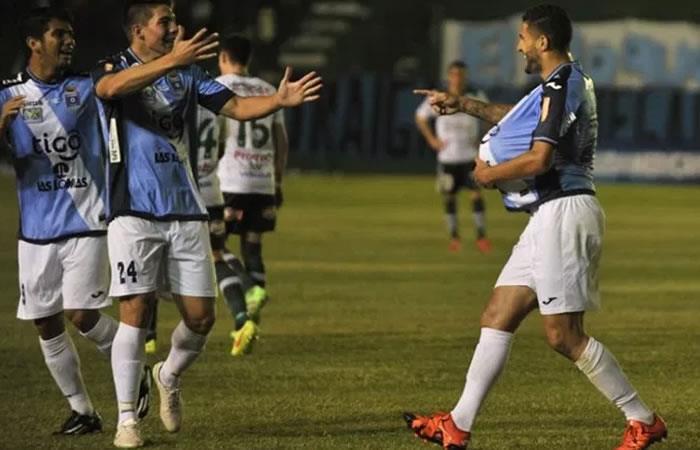 Bolívar y Blooming, en duelo directo por la punta del torneo. Foto: AFP