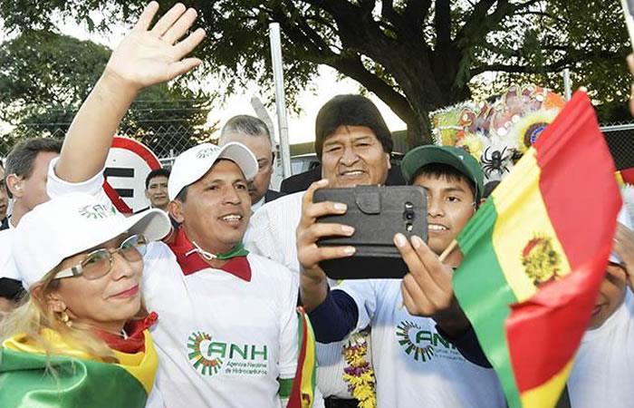 Morales ofrece