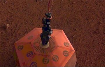 Un terremoto se registró por primera vez en Marte