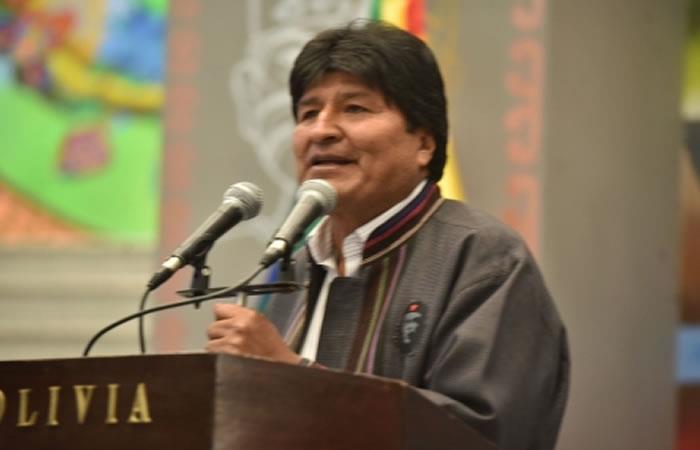 Evo Morales pide todo el peso de la ley con policías ligados al narcotráfico