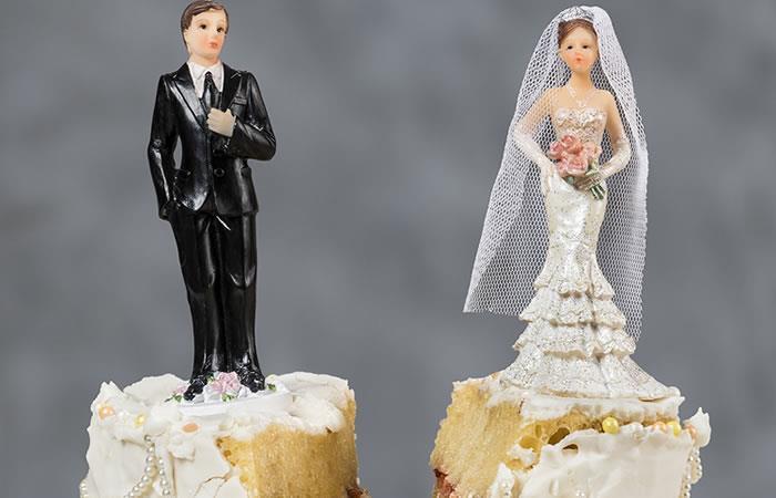 Siete de cada diez matrimonios en el país se rompen