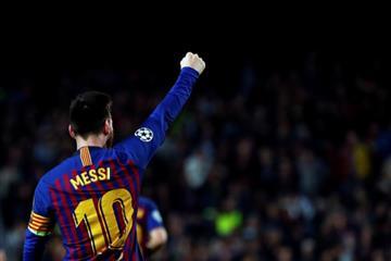 Con gran actuación de Messi Barcelona golea a Liverpool
