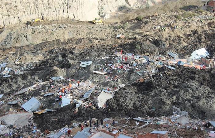 Ante esta situación de desastre se lanzó una campaña de solidaridad para las familias damnificadas. Foto: EFE