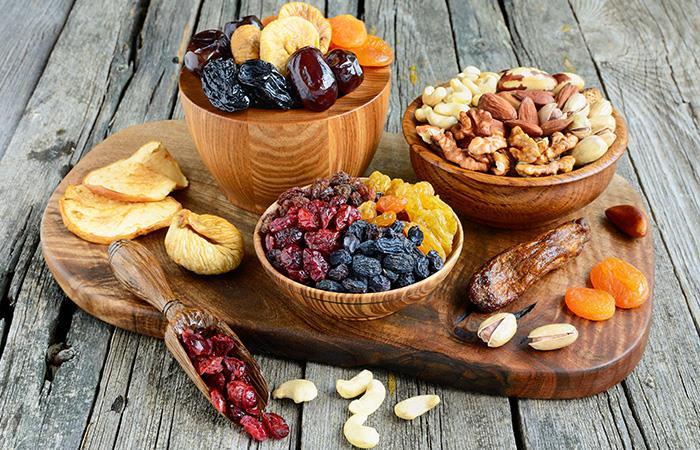 Los frutos secos aportan proteína vegetal. Foto: Shutterstock
