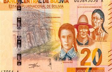 ¡Orgullo boliviano! Estamos en el ranking de los 10 billetes más bonitos del mundo