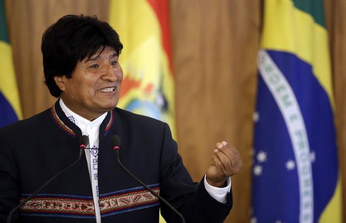 Evo Morales dice que la búsqueda de los desaparecidos continuará en La Paz