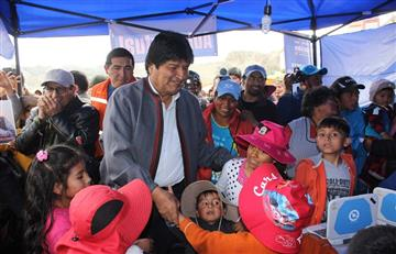 """""""Vamos a ganar las elecciones, ese no es el problema"""": Evo Morales"""