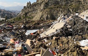 Viceministro de Vivienda asegura que no se abandonará a los damnificados por el deslizamiento en La Paz