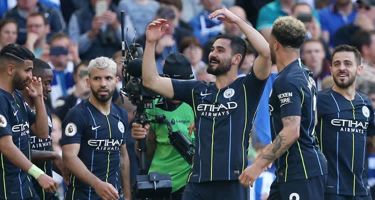 Manchester City consigue su sexto título en Primera División - EFE