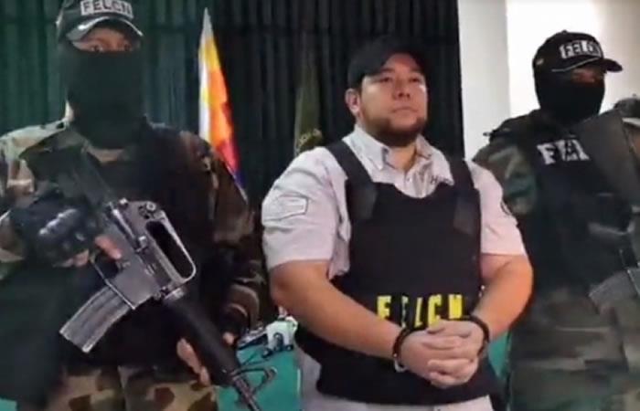 Fue detenido uno de los narcotraficantes más buscados por las autoridades Bolivianas y Brasileñas. Foto: ABI.