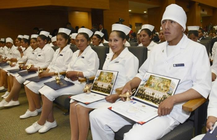 Reconocimiento a las personas que ejercen la profesión. Foto: ABI