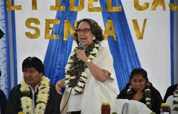 Elogios para Bolivia por parte de la Secretaria General Iberoamericana