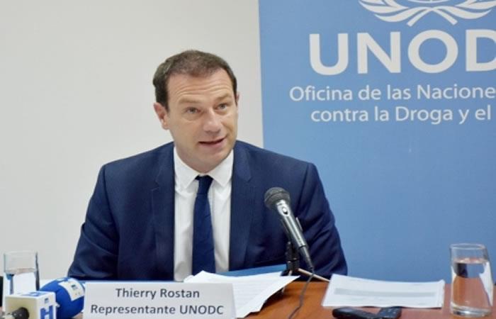 Representante de UNODC afirma que no existen cárteles del narcotráfico en Bolivia