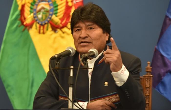 Morales saluda a Paraguay en sus 208 años de independencia