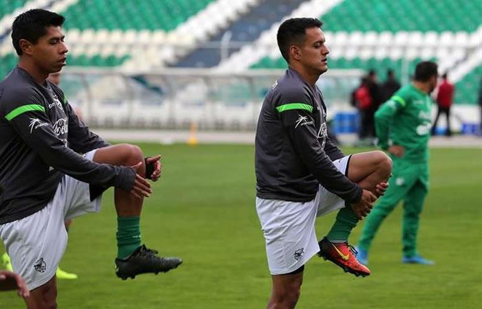 'La verde' se prepara para la Copa América. Foto: EFE.