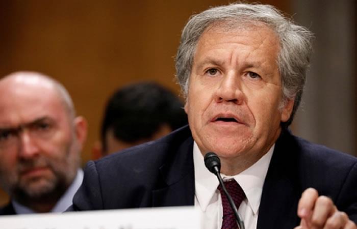 Secretario general de la Organización de Estados Americanos (OEA), Luis Almagro. Foto: ABI.