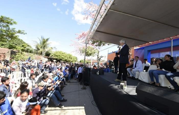 Vicepresidente inaugura guardería municipal en Warnes