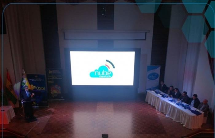La nube ya puede ser utilizada por las empresas e instituciones del Estado boliviano. Foto: ABI.