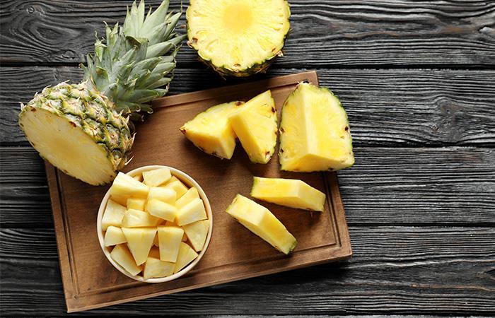 Disfruta la piña que es fuente de vitaminas y minerales. Foto: Shutterstock