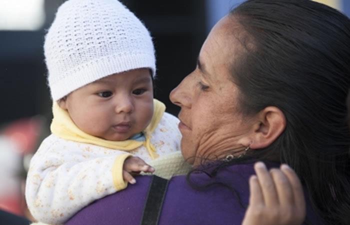 Conmemoración del 'Día de la Madre' en Bolivia. Foto: ABI.